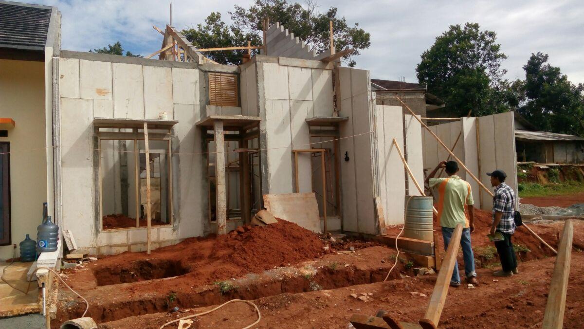 lastana hills, jati asih, panel beton, depanel, beton ringan, panel dinding, panel lantai