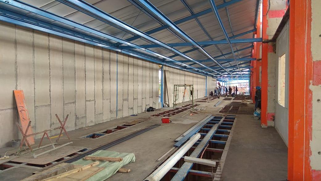 panel beton, beton ringan, deingking, plant, karawang, depanel