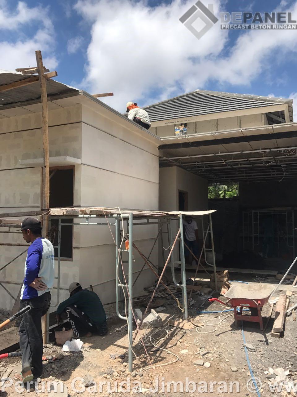 dindingpanel, betonringan, rumahmurah, perumahan, garudajimbaran