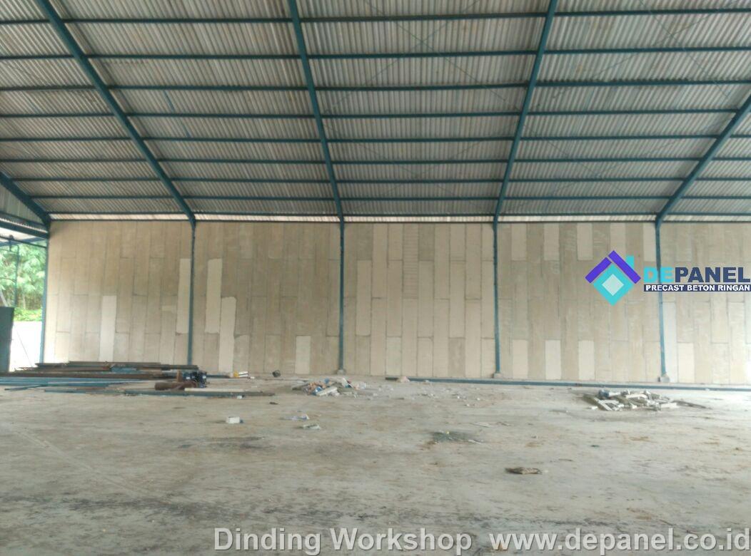 panel, beton, ringan, rumah contoh, depanel,rumahcepat, rumah cepat, precast, dinding workshop